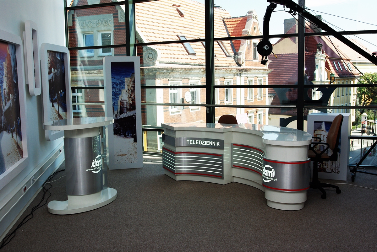 Studio telewizyjne TV Dami w Legnicy