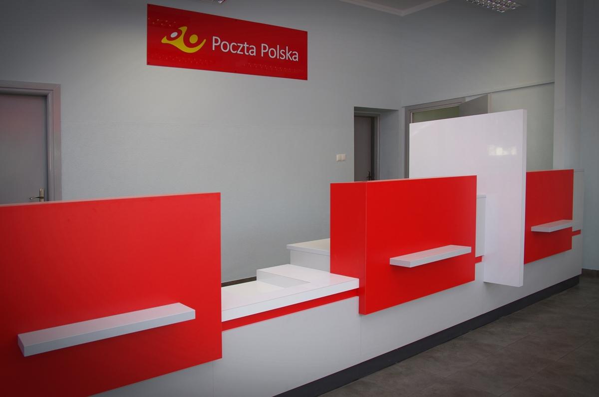 Lokal Poczty Polskiej w Legnicy